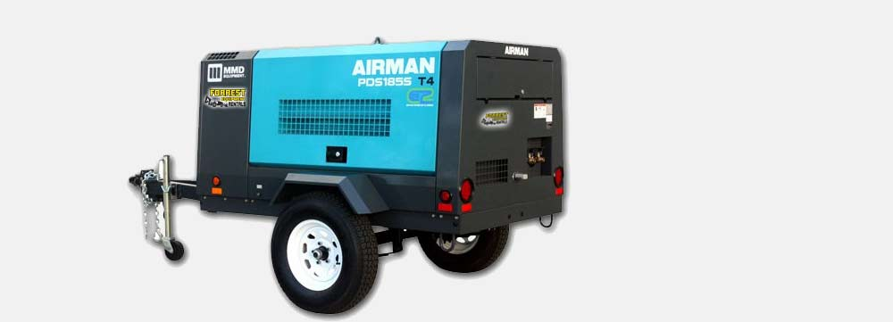 compressor rentals in phoenix by Forrest Equipment Rentals