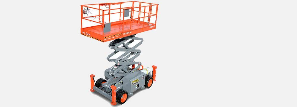 Scissor lifts rentals in phoenix by Forrest Equipment Rentals