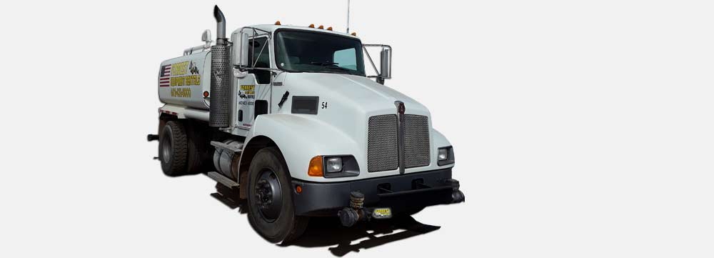 Water truck rentals in phoenix by Forrest Equipment Rentals